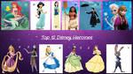 Top 12 Disney Heroines