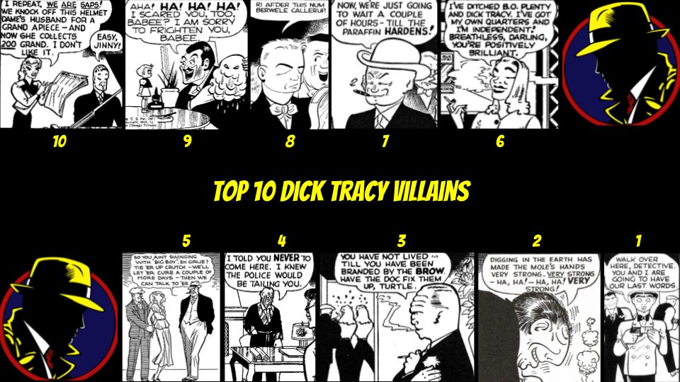 Dick Tracy Villains