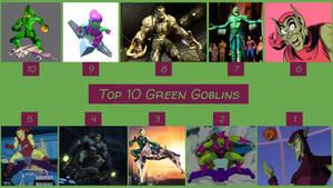 Top 10 Green Goblins