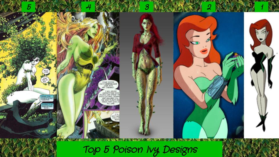 Top 5 Poison Ivy Designs By Jjhatter On Deviantart