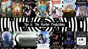 Top 12 Tim Burton Productions