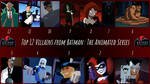 Top 12 Villains from Batman: The Animated Series