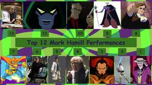 Top 12 Mark Hamill Performances by JJHatter