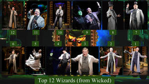 Top 12 Wizards (from Wicked)