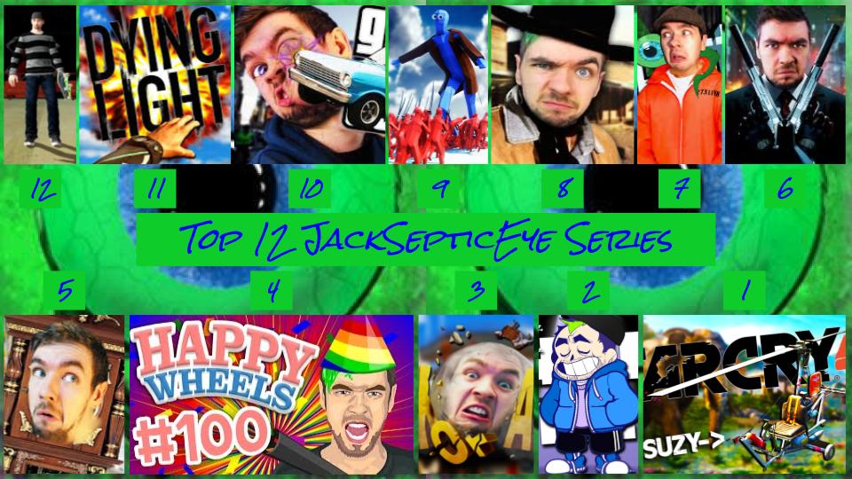 Top 12 JackSepticEye Series by JJHatter on DeviantArt