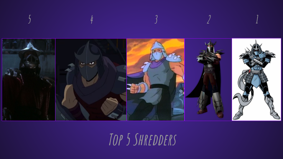 Updated Top 5 Shredders By Jjhatter On Deviantart