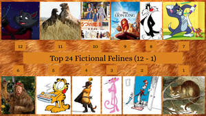 Top 24 Fictional Felines - Part 2