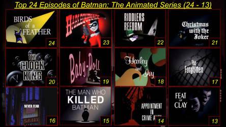 Top 24 Batman The Animated Series Episodes Part 1
