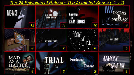 Top 24 Batman The Animated Series Episodes Part 2