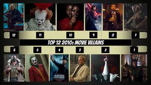 Top 12 2010s Movie Villains