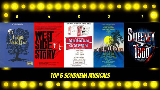 Top 5 Sondheim Musicals