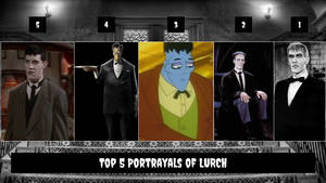Top 5 Portrayals of Lurch