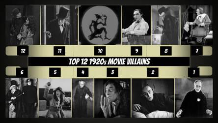 Top 12 1920s Movie Villains