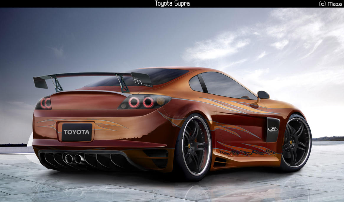 Toyota Supra mk5 by M-a-z-a on DeviantArt