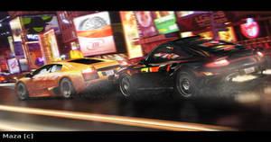 Hi-speed tag N.Y.C. by M-a-z-a