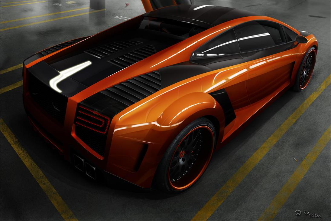 Lamborghini Gallardo by M-a-z-a