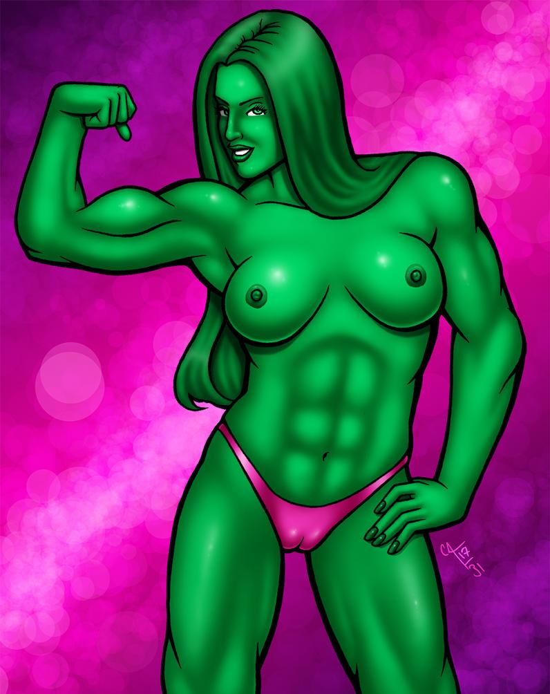 She-Hulk: Green Dreams by seestaar