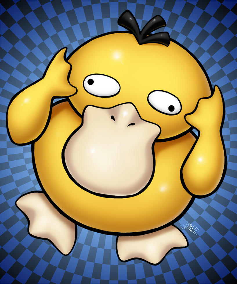 PokeMonthly: Psyduck by seestaar