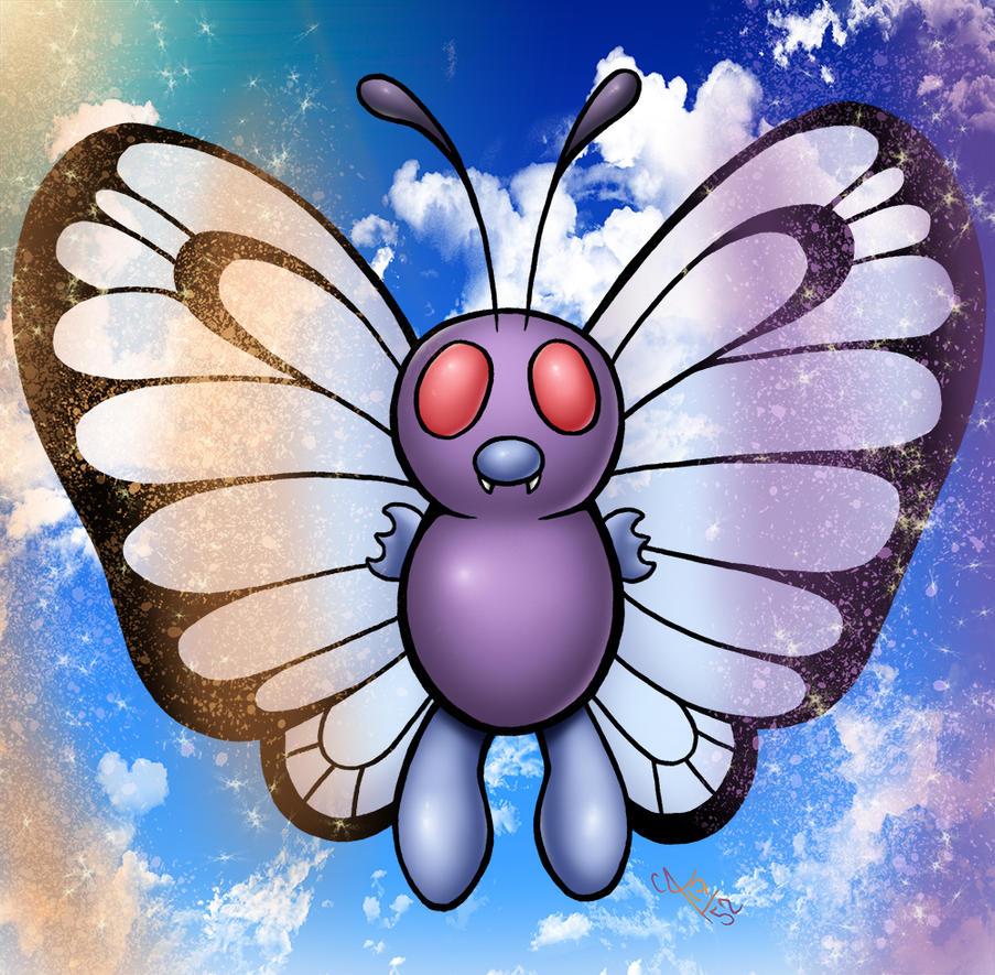 Pokemonthly: Butterfree by seestaar