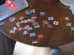 Hetalia flags in world order
