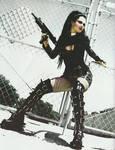 sexy goth badass babe