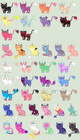 Uni's unicats [closed temporarily] by unicorngirl1