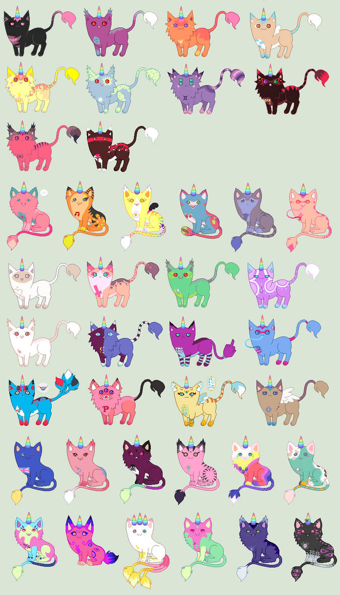 Uni's unicats [closed temporarily]