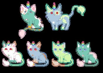Sugary-icy kitties [closed] by unicorngirl1