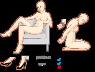 Misc poses [base] by unicorngirl1