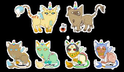 Mummy-Nefernut kittens [closed] by unicorngirl1