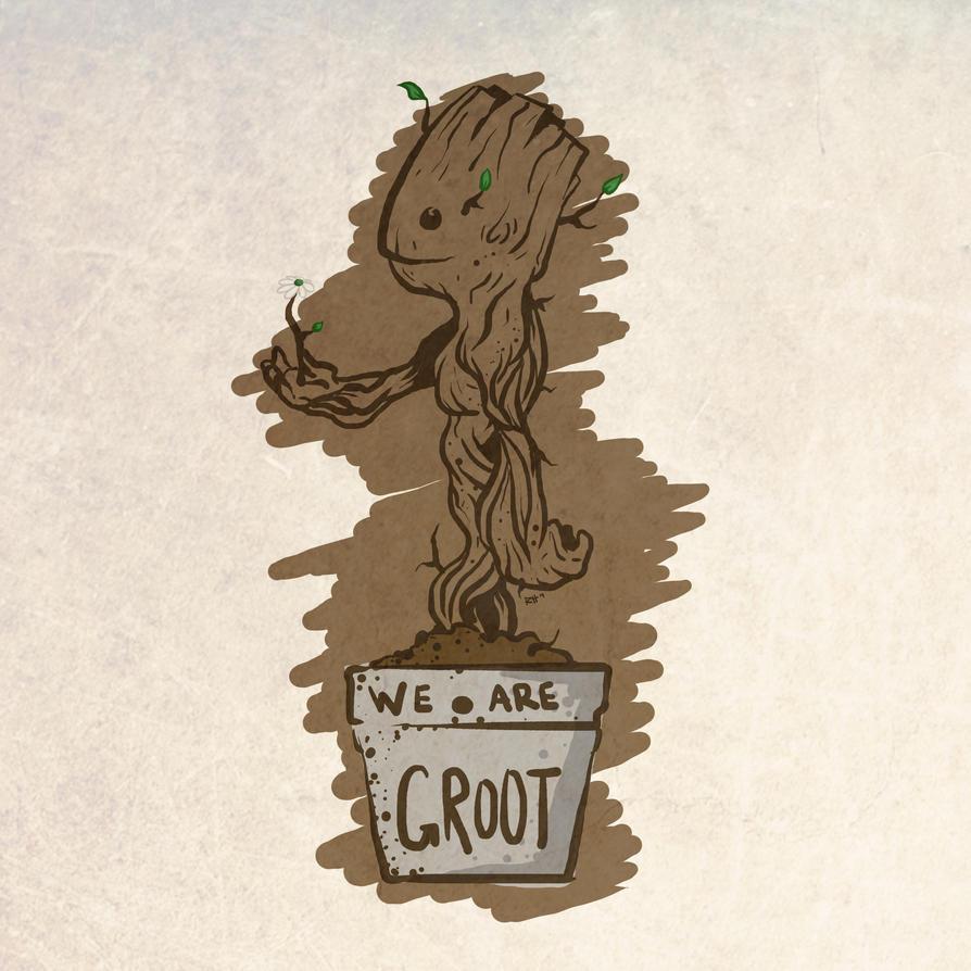 Groot by RoastedHead