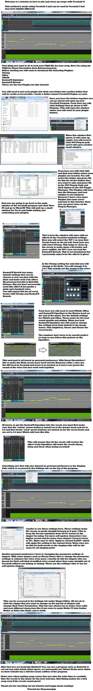 Vocaloid 4 Tutorial: Mixing, Tuning and Editing by