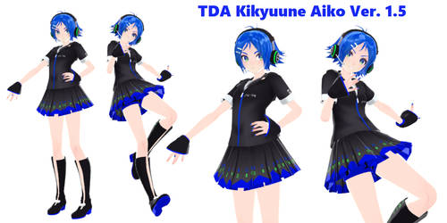 [MMD TDA] Kikyuune Aiko VOXYZ [model DOWNLOAD]