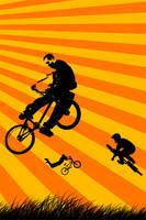 BMX Wallpaper by the1djx