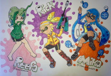 Splatoon requests by Abbysol