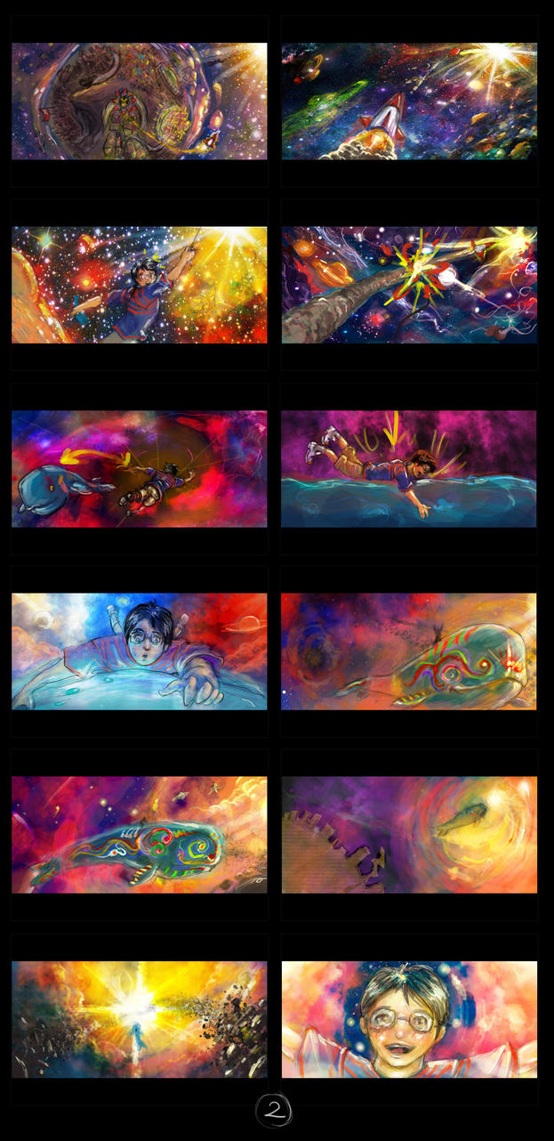 dream storyboard part2 by Edenknight