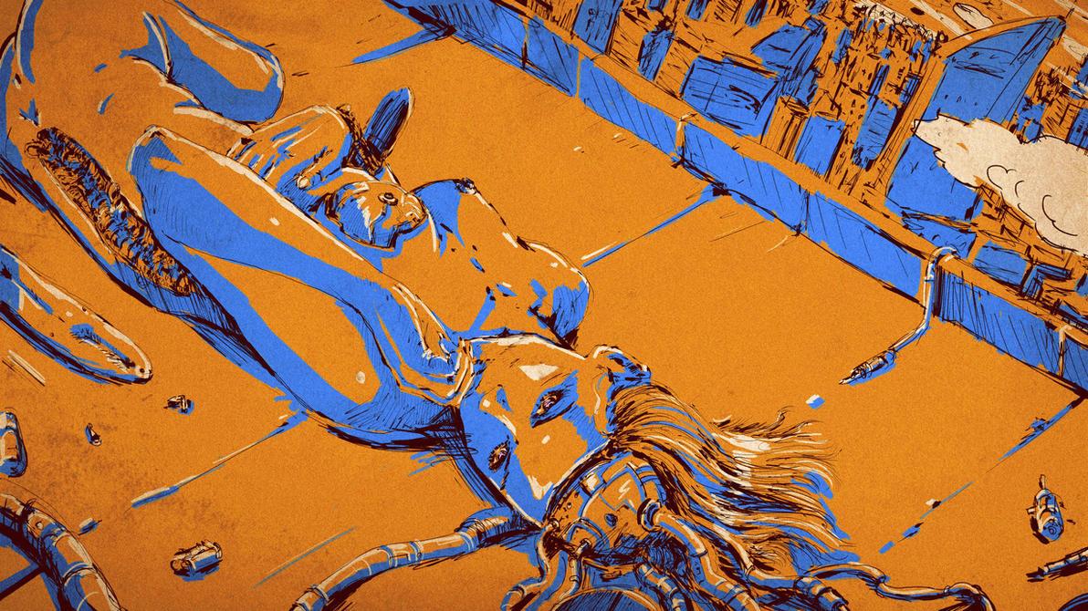 Cyber Acid Lucid Dream by Edenknight