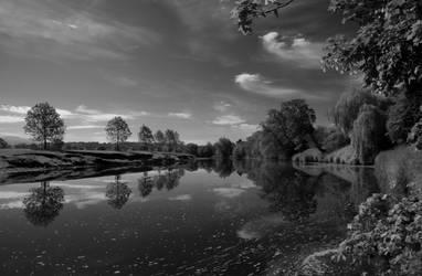 River Eden by graemeskinner