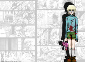 Nightmares - Wallpaper Seras Victoria Child by robertavampire
