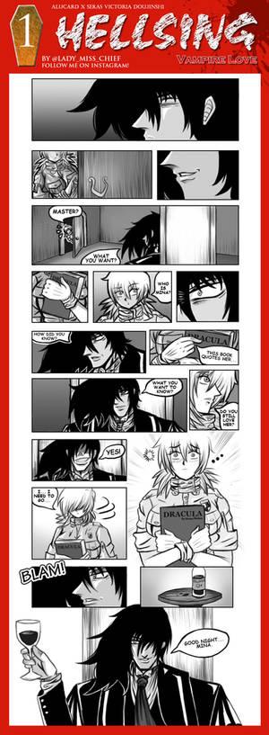 Vampire Love - 01 - Doujin Seras X Alucard REMAKE!