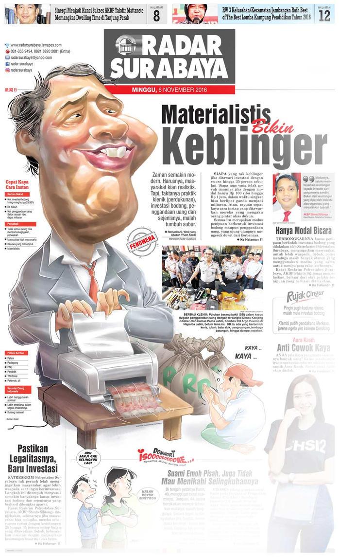 Newspaper by Fajar-Korin