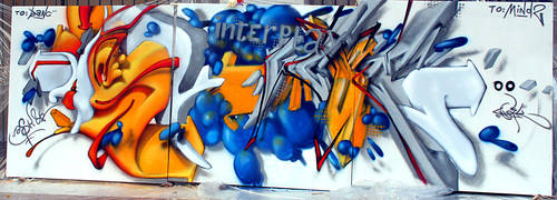 meltin' hip hop by originalASKER