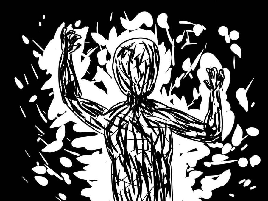 Inktober Day 11- Cruel by Danbrofist