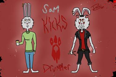 Sam The Drummer Bun