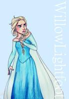 Elsa by WillowLightfoot