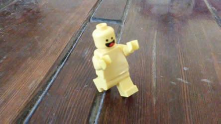 'Nude' LEGO Man