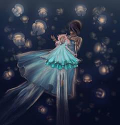 Jellyfish Princess by dog-food