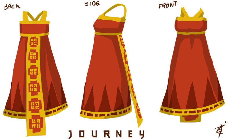 Journey Dress Design by Anodesu