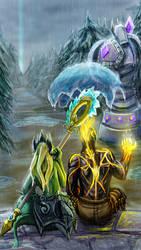 League of Legends: Rain by Anodesu