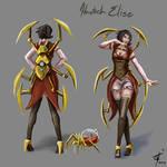 Skin Concept: Hextech Elise